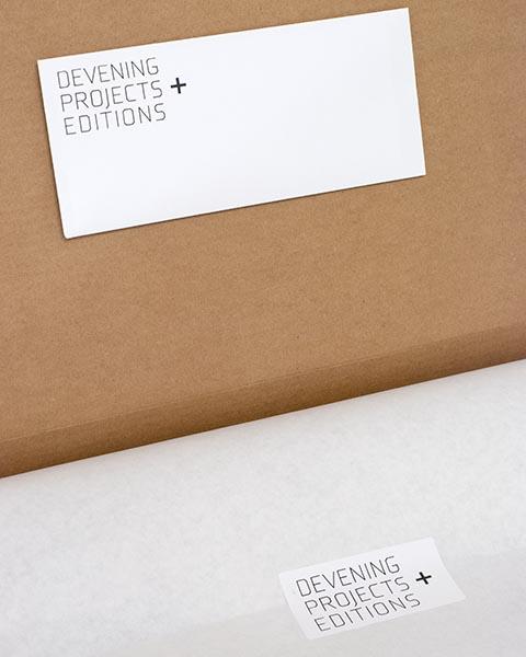 Material Scraps (B&W Landscape) 2012 (Package Detail)
