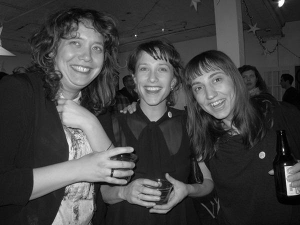 Abigail Satinsky, Samantha Topol and Sibylle Friche
