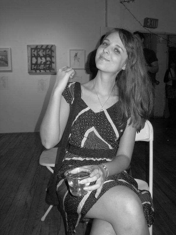 Artist Sarah Weber