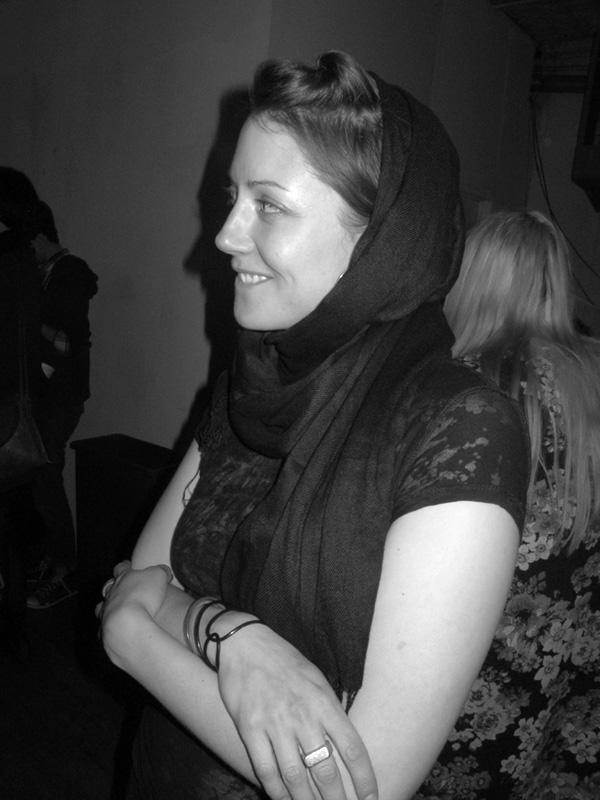 Artist Sara Mosk