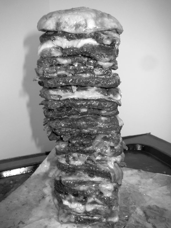 UIC Burger Sculpture