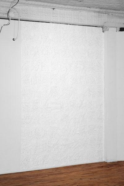 Profile Scraps(Circa 1970 installation), 2012